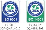 ISO9001 JQA-QMA14010 ISO14001 JQA-EM1898